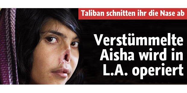 Verstümmelte Aisha wird operiert
