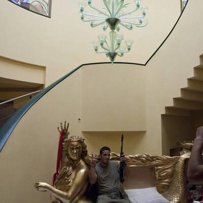 Villa von Gaddafi-Tochter geplündert