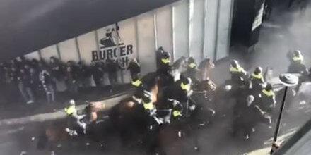 Juve-Fans randalieren vor Ajax-Stadion: Festnahmen
