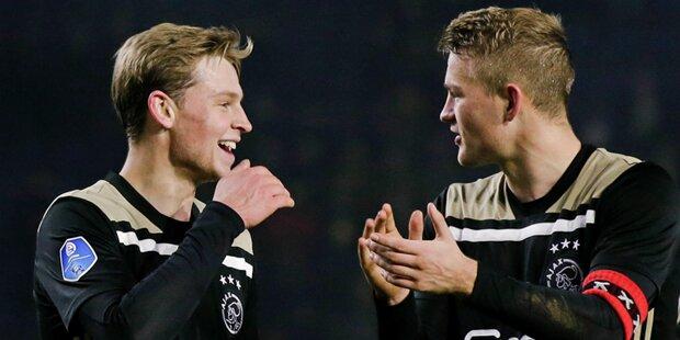 Wegen Ajax: Holland verschiebt ganze Runde