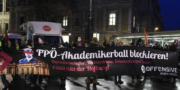 Akademikerball: 54 Festnahmen