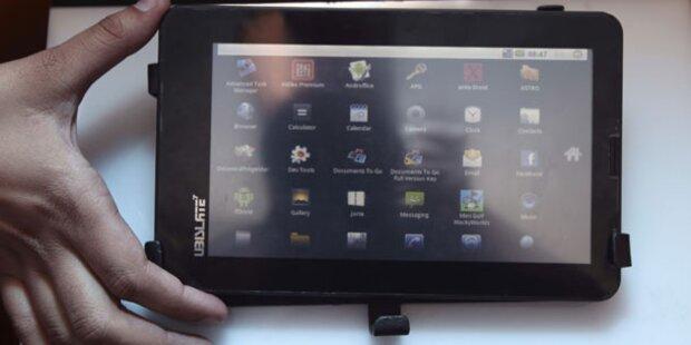 Tablet-Computer für 45 Euro vorgestellt