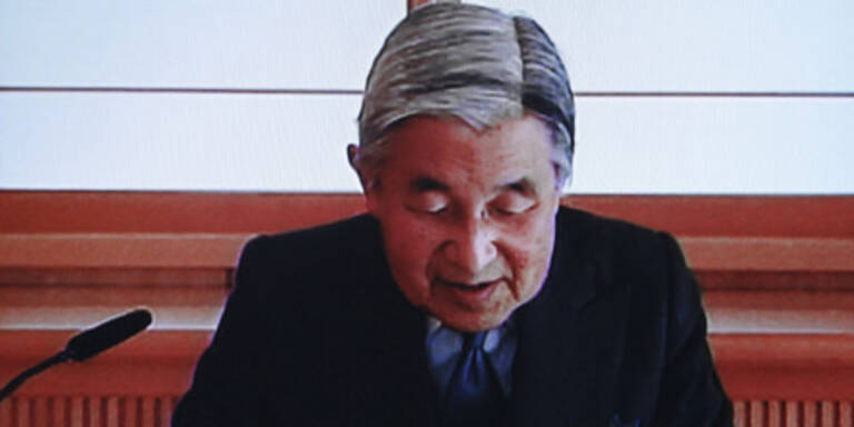 """Kaiser Akihito ist """"zutiefst besorgt"""""""