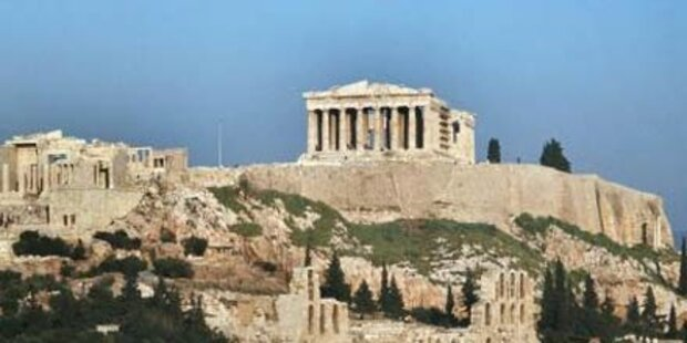 Griechische Polizei stürmt Akropolis
