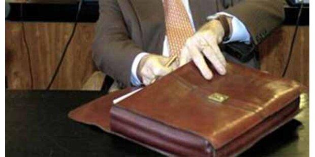 Minister vergaß vertrauliche Dokumente