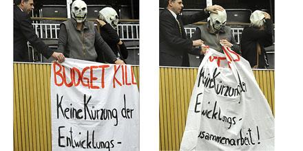 Aktivisten budget Parlament