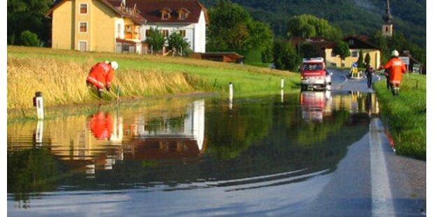 Regen hat Salzburg weiter fest im Griff