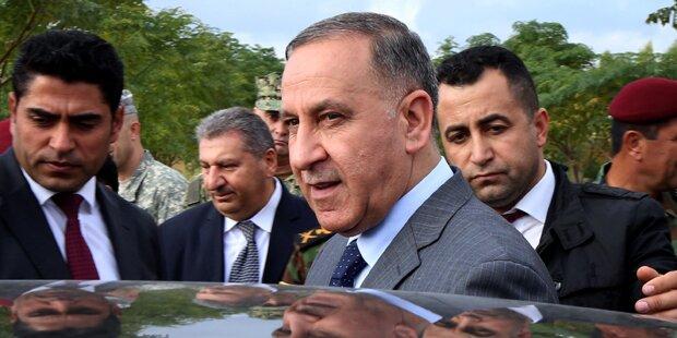 ISIS-Anschlag auf irakischen Minister