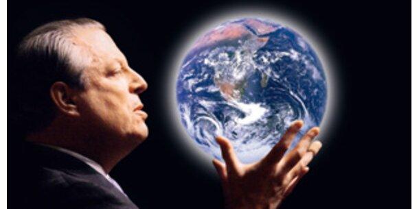 Al Gore warnt vor Zuspitzung der Klimakrise