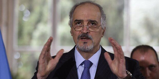 Syrien: Keine Gespräche mit Opposition