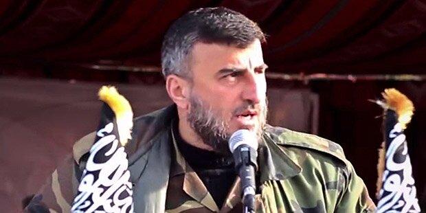 Rebellenchef bei Luftangriff getötet