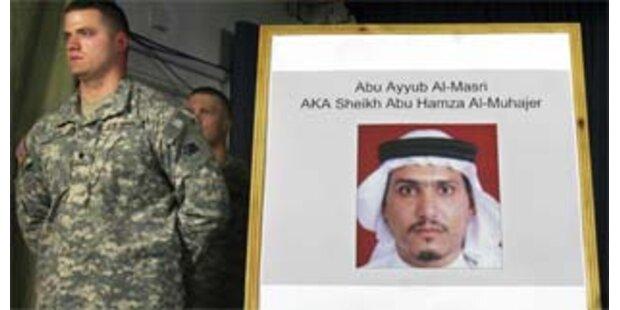 USA widersprechen - Al-Kaida-Chef im Irak nicht gefasst