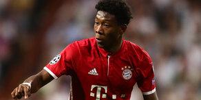 David Alaba seit 9 Jahren bei Bayern München