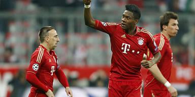 Bayern feiern Super-Alaba