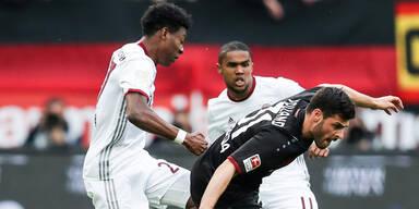 Bayern enttäuscht bei Nullnummer