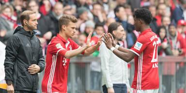 Schock: Alaba bei Bayern-Patzer verletzt