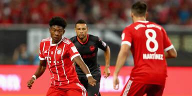 Alaba vergibt Elfer bei Bayern-Pleite