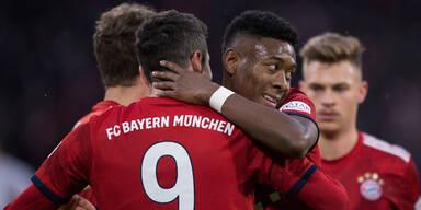 Bayern mit klarem Sieg - BVB gewinnt Derby