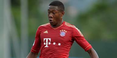 Alaba will mit Bayern den Titel holen