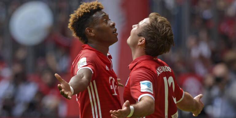 Bayern legt gegen Bremen los
