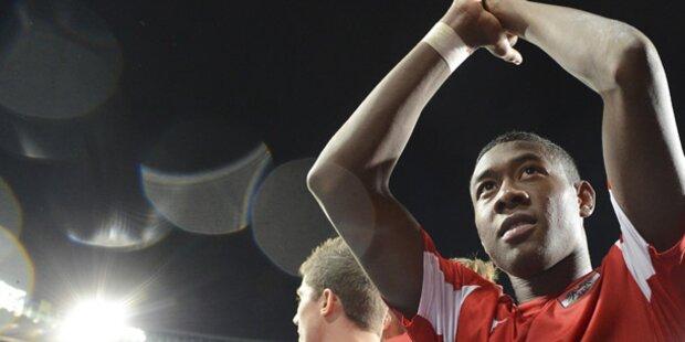Alaba erlöst Österreich in der 84.Spielminute