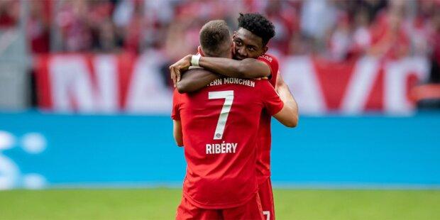Alaba: Rührender Twitter-Abschied von Ribéry