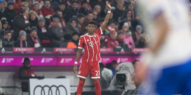 Alaba-Jubel: Bayern siegt gegen Schalke