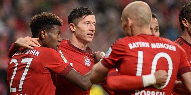 3:0 ! Alaba mit Bayern im Cup-Halbfinale