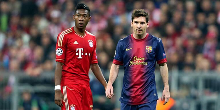 Jetzt hofft Austria auf Alaba oder Messi