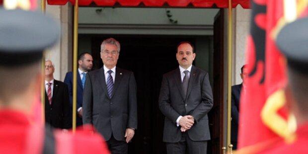 Albanien nun offiziell EU-Beitrittskandidat