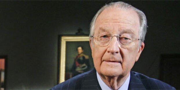 Belgischer König verlangt Sparbudget