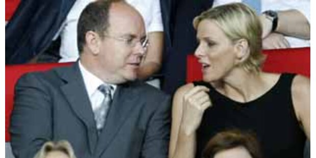 Fürst Albert und seine Charlene verliebt in Wien