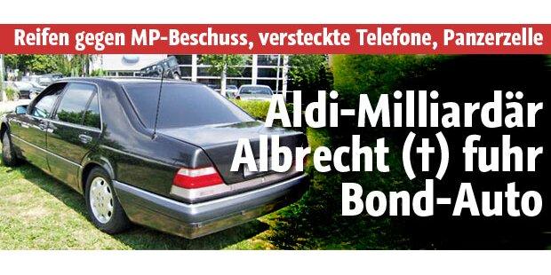 Milliardär Albrecht fuhr Bond-Limousine