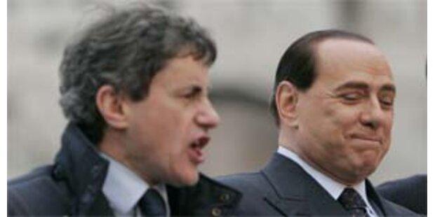 Berlusconis Kandidat Alemanno bei Wahl in Rom vorn