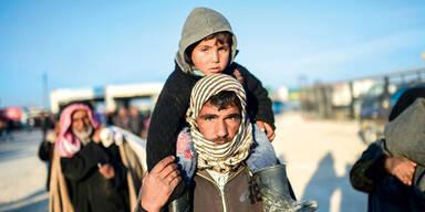 Aleppo Flüchtlinge
