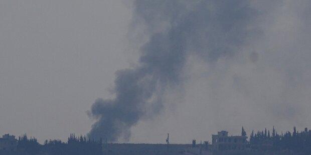 Syrische Rebellen klagen über Verstoß gegen Waffenruhe