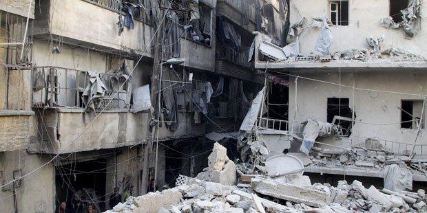 Hilfe für 13.000 Familien in Aleppo