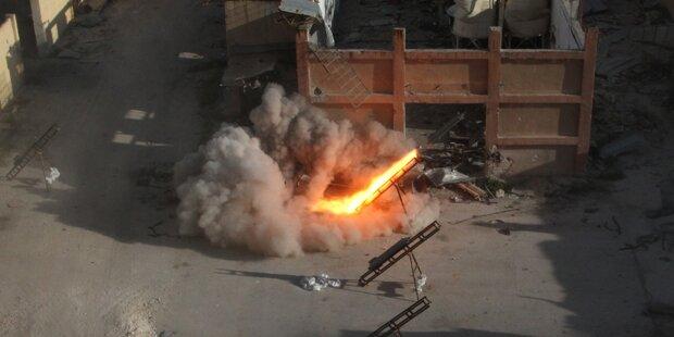 IS attackierte syrische Armee bei Damaskus