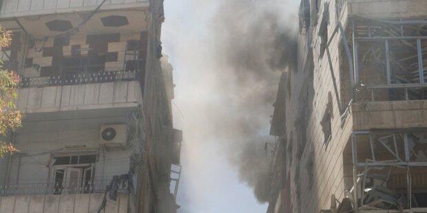 Mehrere Tote in Aleppo durch Assad-Bomber