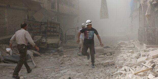Schwere Kämpfe in Aleppo: Mindestens 40 Tote