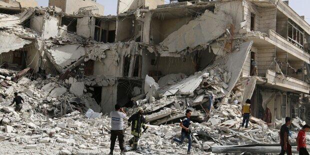 Syrien: Auch Bodenoffensive in Aleppo