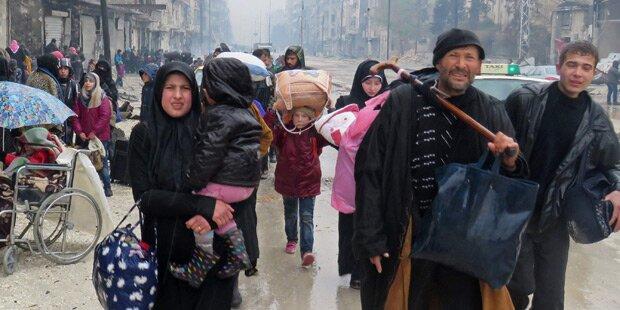 Rebellen: Zivilisten dürfen Ost-Aleppo verlassen