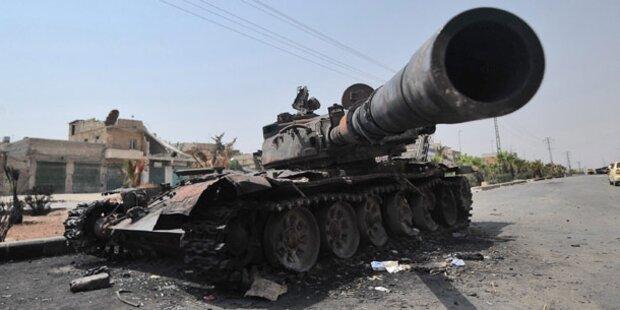 Aleppo und Damaskus unter Beschuss