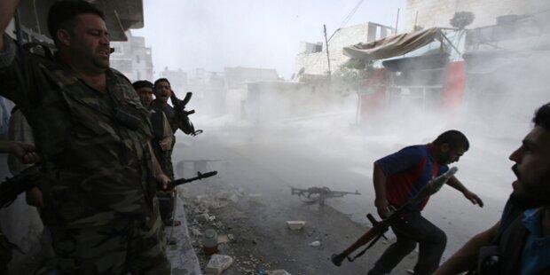 Syrien: Rebellen greifen Geheimdienst an