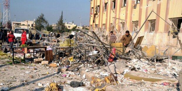 80 Tote bei Explosionen an syrischer Uni