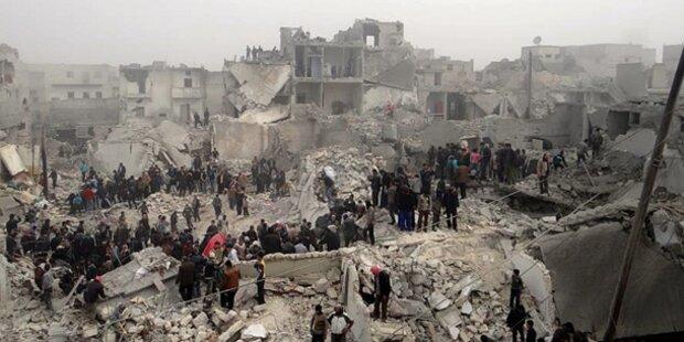 Neue Massenflucht aus Syrien