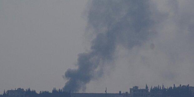Syrien: Russen fliegen weiter Luftangriffe
