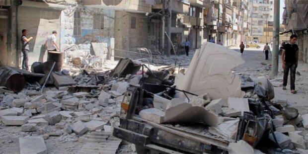 Syrien: Armee erobert Stadtteil von Aleppo