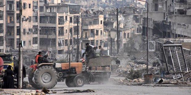 Russland: Massengräber in Aleppo entdeckt