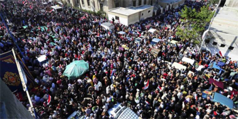 Übergangsregierung schränkt Demo-Recht ein